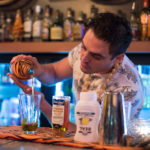 Georgi Radev adding Wild Tiger rum