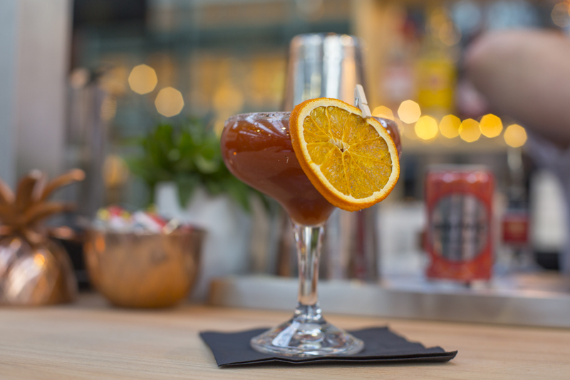 A twist on Bloody Mary cocktail